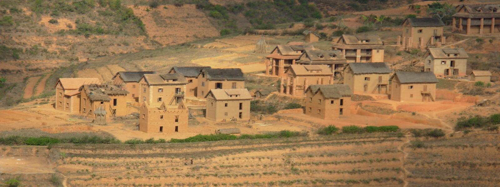 Village des hautes terres