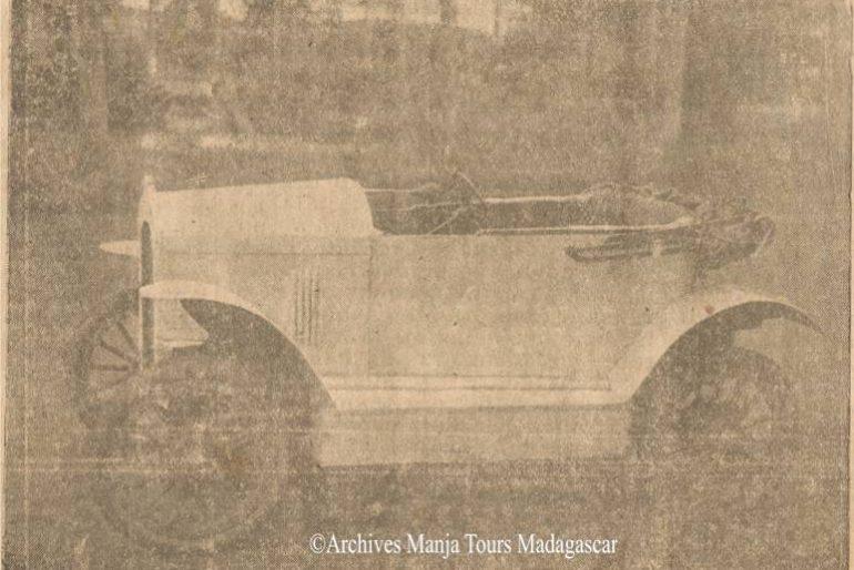 La première automobile malagasy